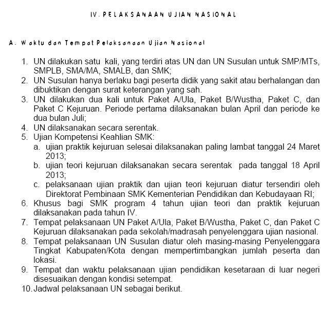 Smp Negeri 1 Kedokanbunder Pos Un 2013