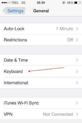 Cara Menampilkan Emoticon Keyboard Di iPhone Otomatis