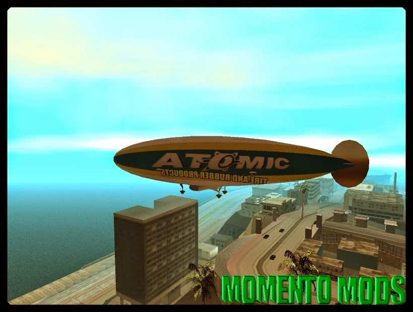 GTA SA - Dirig�vel Atomic Do GTA V