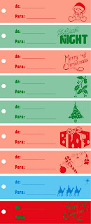 Etiquetas presentes natal
