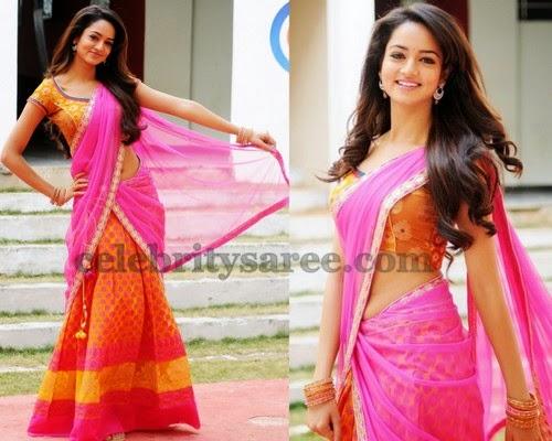 Shanvi Silk Half Saree