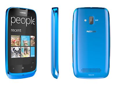 Harga NOKIA Lumia 610   Cyan cariharga.blogspot.com