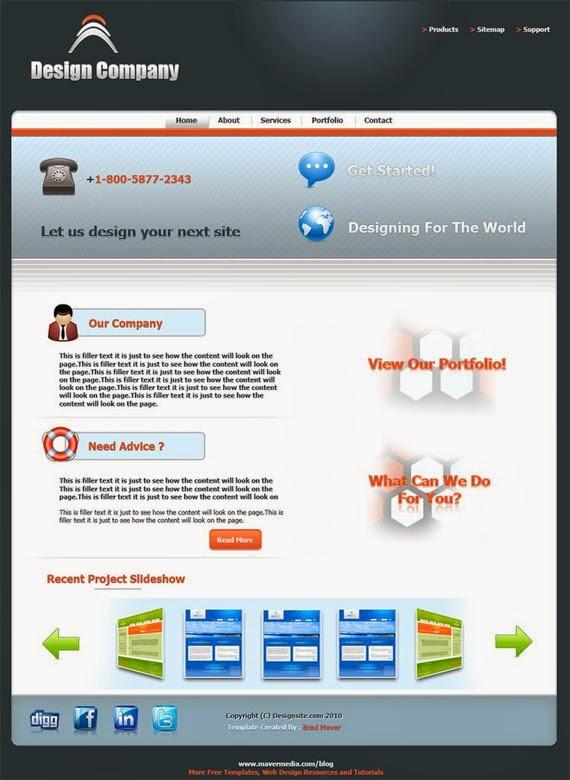 Template – Web Designer