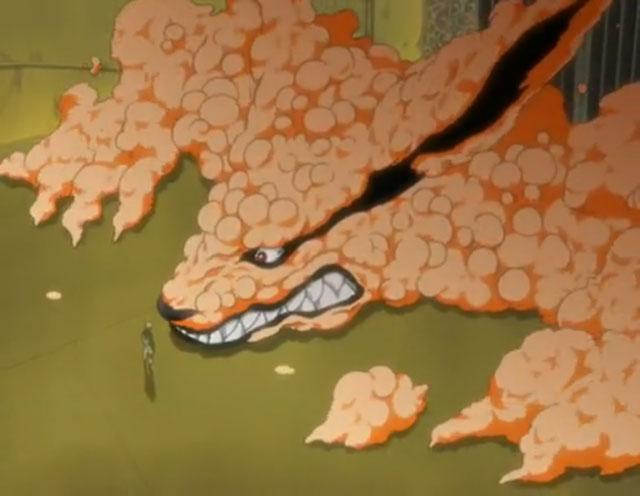 Kyuubi Chakra Inside Naruto