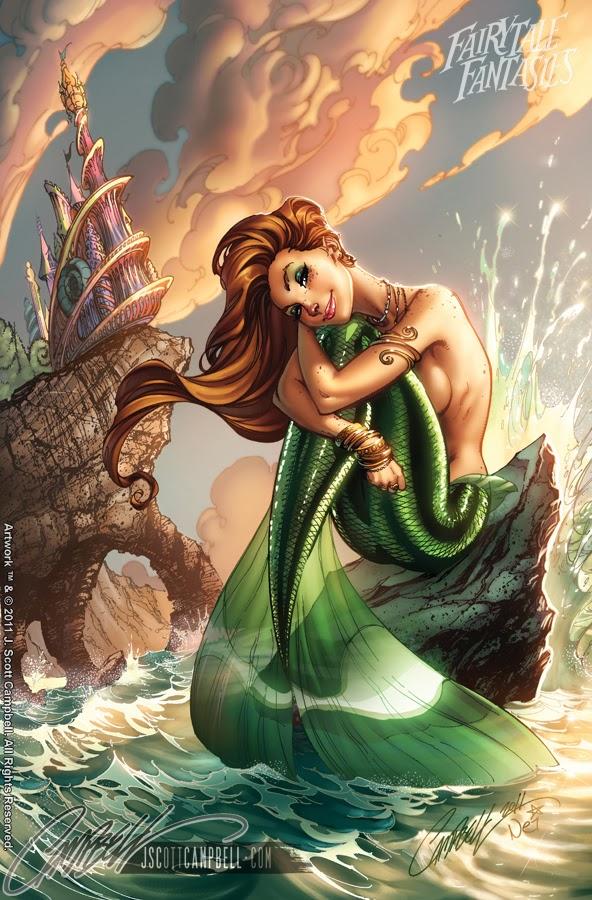 Little Mermaid Fairytale Fantasies Disney