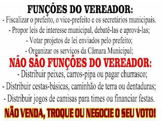 O VEREADOR E AS CAMISETAS DO TIME