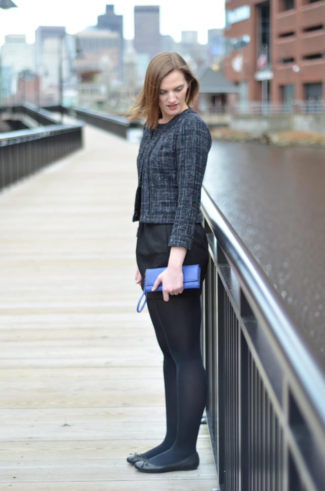 Banana Republic Wool Cropped Jacket