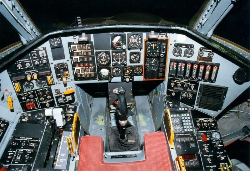 Jet Airlines B 2 Spirit Cockpit