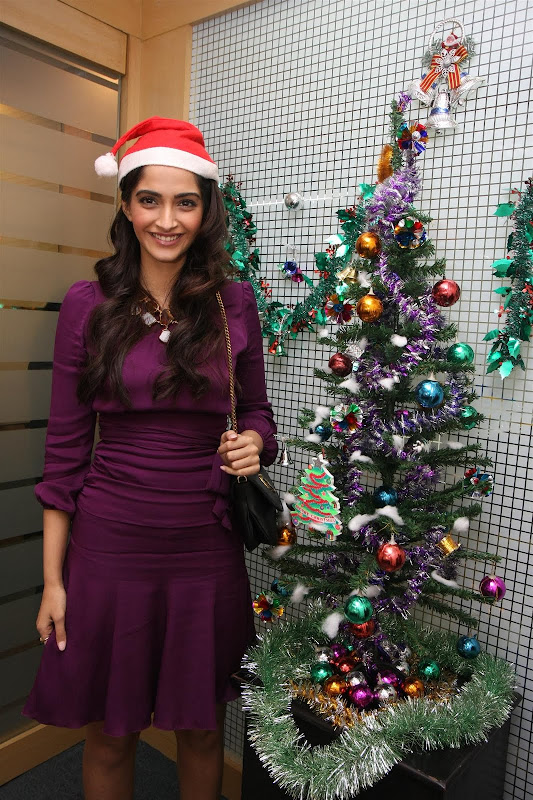 Sonam Kapoor Photoshoot for Christmas Event release images