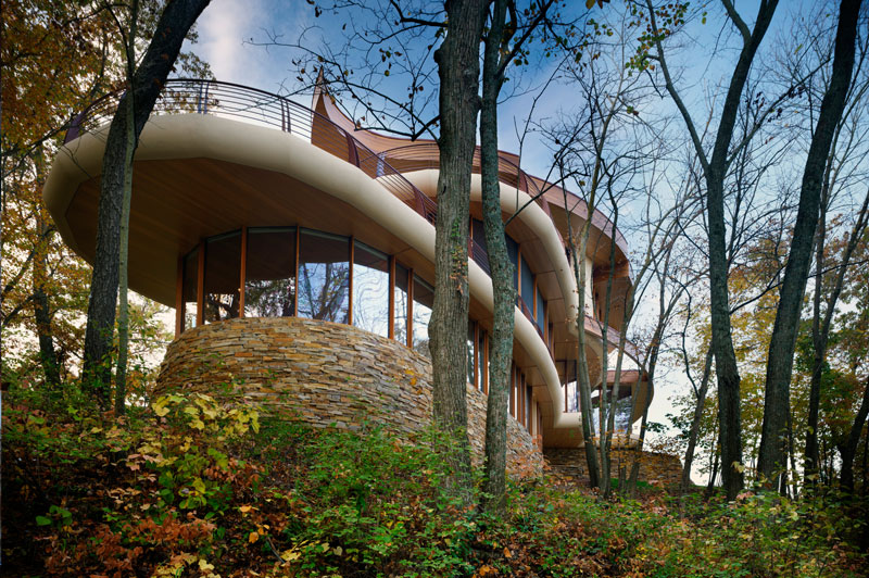 eclectitude chenequa house robert oshatz architect