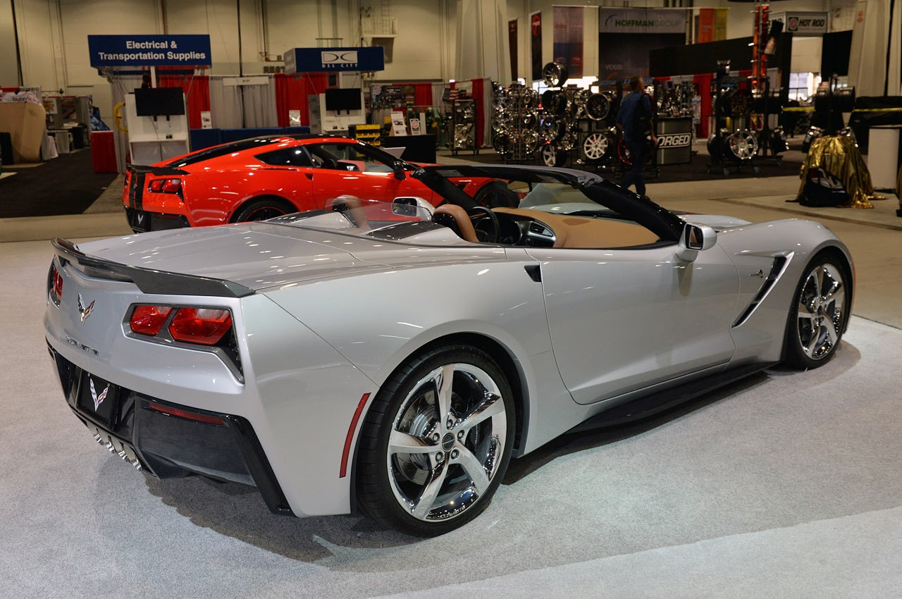 automotiveblogz chevrolet corvette stingray convertible. Black Bedroom Furniture Sets. Home Design Ideas