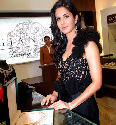 katrina kaif at nakshatra logo launch latest photos