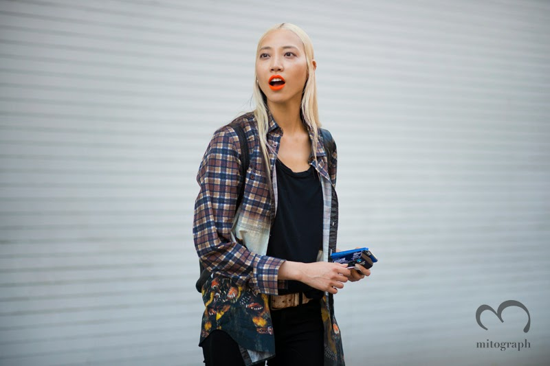 mitograph Soo Joo Park After Rag and Bone New York Fashion Week 2014 Spring Summer NYFW Street Style Shimpei Mito