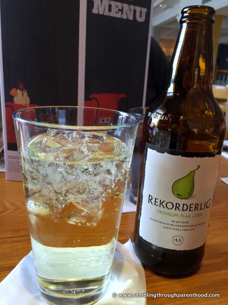 Pear cider at Quay House Beefeater Grill and Restaurant