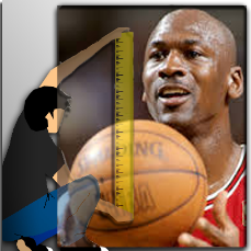 What is Michael Jordan Height?
