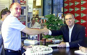 Con Garry Kasparov