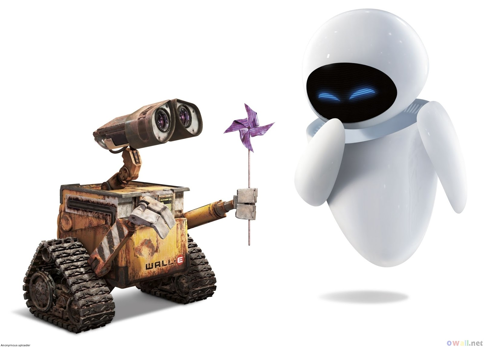 Disney couples, Wall-E, Wall-E and Eve