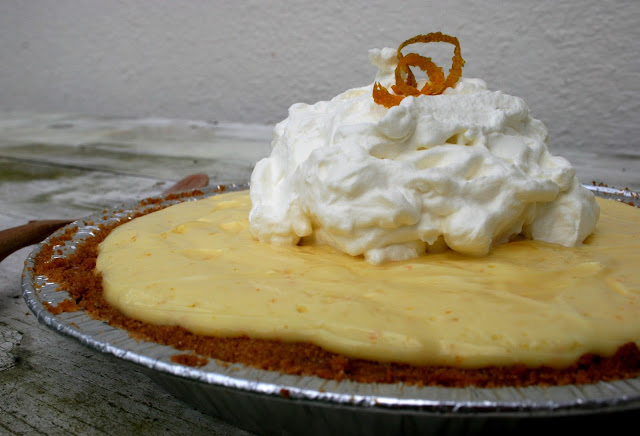Orange Creamsicle Pie | Nothing in the House