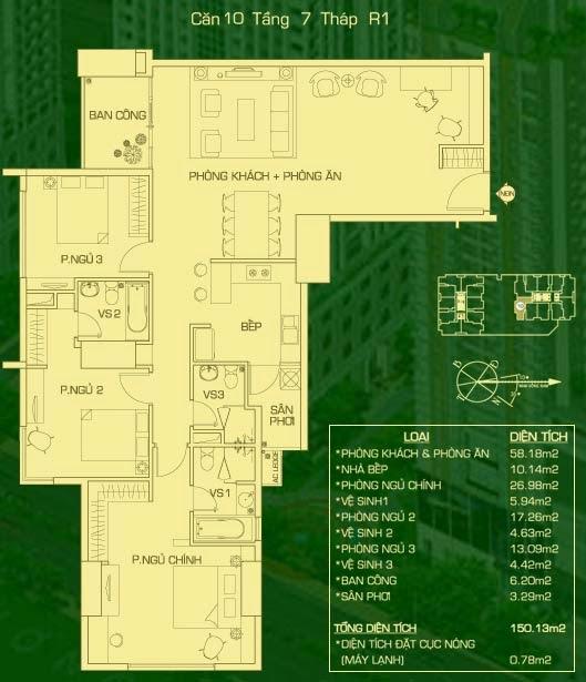 căn 10 lâu 7 tháp R1 everrich