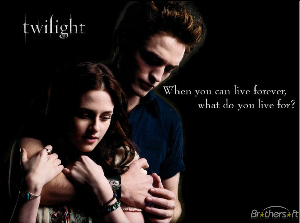Twilight Love couple Wallpaper : Wallpaper Gallery: Love Wallpaper - 40