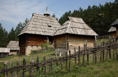 Old serbian house - Where is Serbia