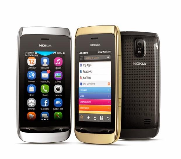 Firmware Nokia Asha 308 RM-843 v8.22 BI
