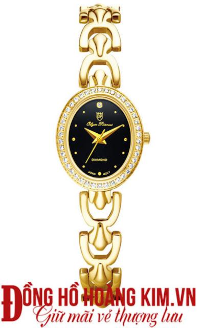 Đồng hồ nữ Olym Pianus đính đá đẹp 2015