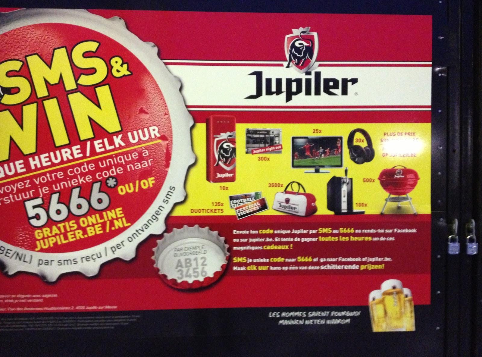Jupiler coupons