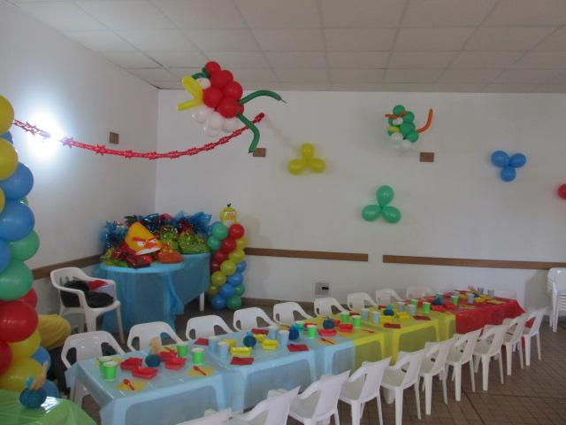 ANGRY BIRDS DECORACION FIESTAS INFANTILES |Fiestas infantiles y ...