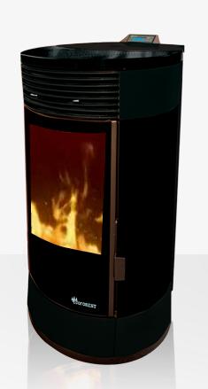 Estufa de aire atenas ecoforest madera de pinares - Estufas de pellets fabricadas en espana ...
