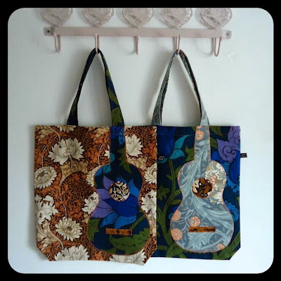Ivy Arch uke bags - the hotchpotch range