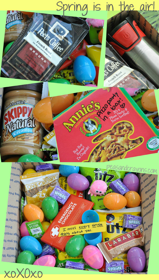 military care package easter spring april