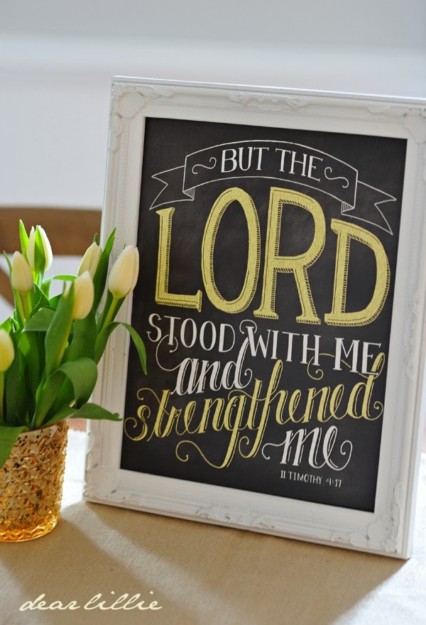 http://www.dearlillie.com/product/the-lord-stood-with-me-11x14-chalkboard-print-with-yellow