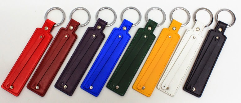 American Jewel Leather Key Chains
