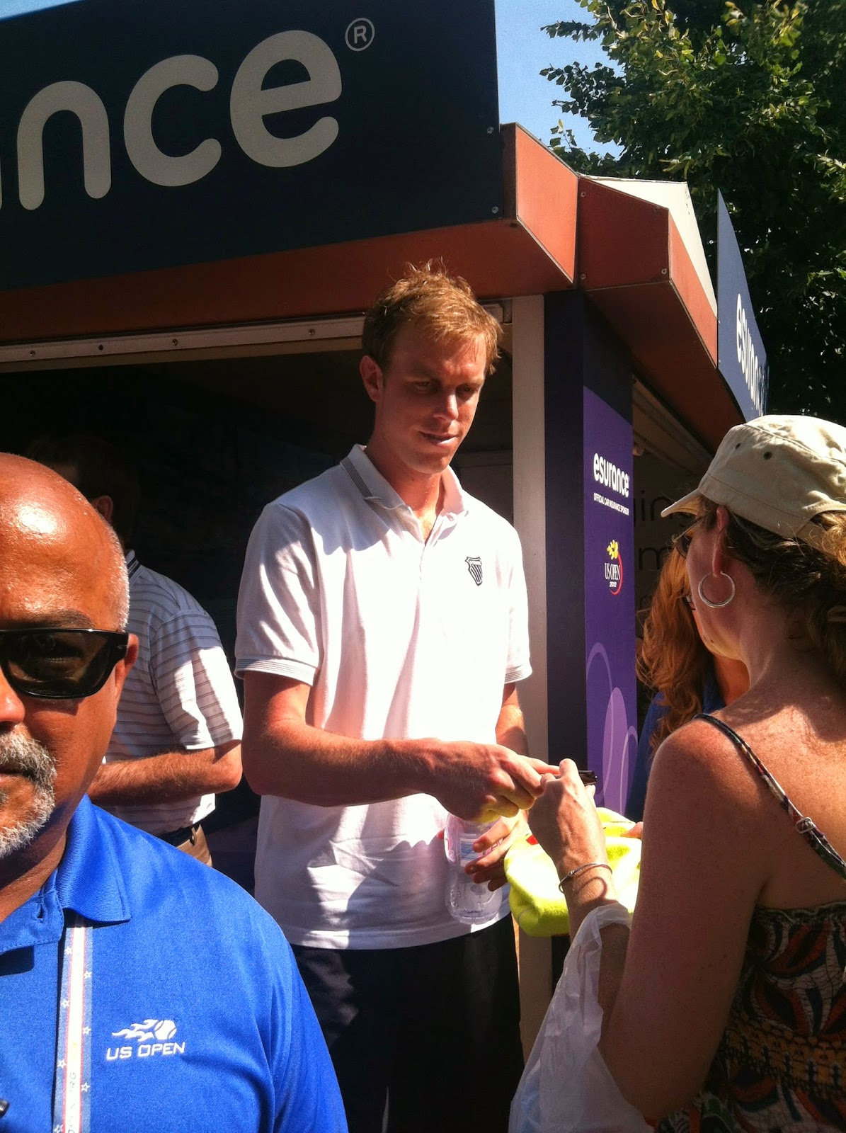 Sam Querrey at the 2012 US Open