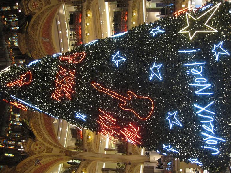 Lovely Rocku0027n Roll Christmass Window In Lafayette