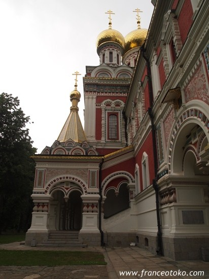 ブルガリアのシプカ僧院