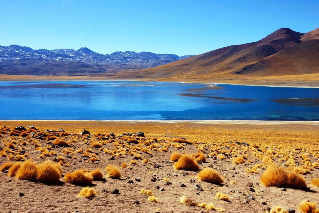 Atacama Desert Lake