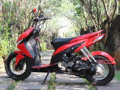 Modifikasi Honda Vario CW Lowrider ~ Kumpulan Modifikasi Motor Terbaru