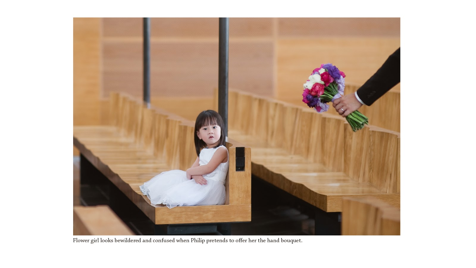 wedding photography singapore sentosa flower girl