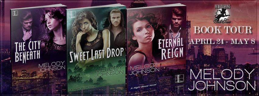 Night Blood Series by Melody Johnson