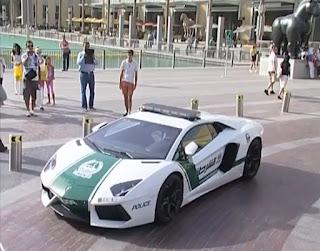 Dubai's police car