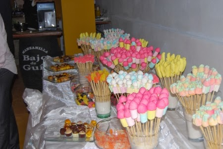 Sweetandlovingwedding - Adornos con chuches ...