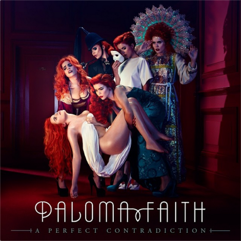 Paloma Faith's 'A Perfect Contradiction' Album Artwork