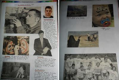 Muerte de José Couso, Aznar y otras imágenes del conflicto armado