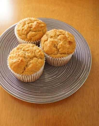 muffins de gengibre