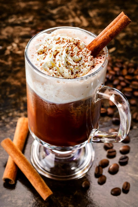 Our Mini Family: Classic Irish Coffee with Cinnamon
