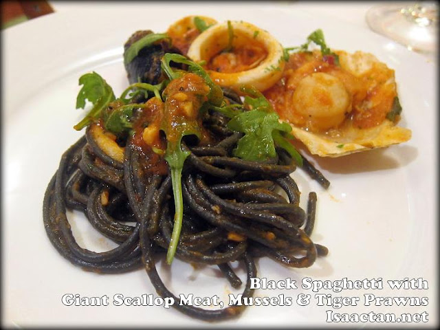 Black Spaghetti from Tonnarelli Di Aria