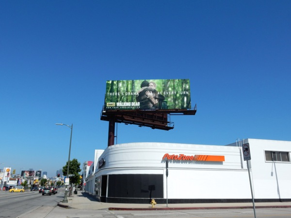 Walking Dead 2015 Emmy billboard