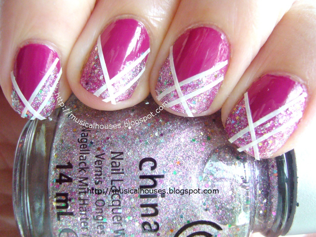 Nail Art With China Glaze Full Spectrum Essie Foot Loose And